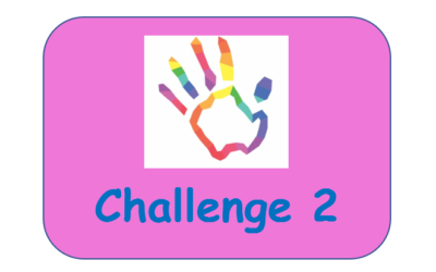 Challenge 2 – Rainbow Collage